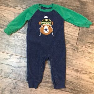 2 for 15- fuzzy warm infant onesie